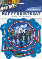 Thunderbirds Are Go Large Jointed Banner